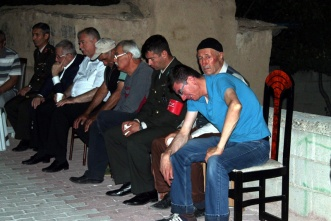 Şehit asker İbrahim Betin'in babaocağında da gözyaşı vardı.